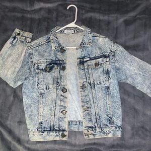 1980's George Marciano Guess jean jacket